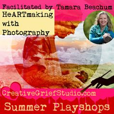 I absolutely love the creativity happening in this class. The first session was recorded and there are two more so it's not too late to get in on the play. The next class is this Thursday...