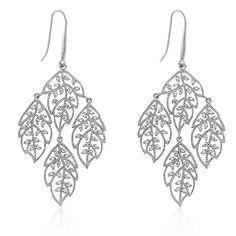 Floral chandelier earrings | Jewelry4theheart - Jewelry on ArtFire  25% off Sale
