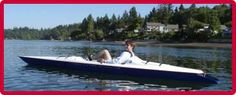 Open Water Cycling - The fastest production pedal boats on the planet.