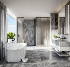 525 High Street by JBC Architecture and Hecker Guthrie Best Home Interior Design, Luxury Homes Interior, Interior Decorating, Decorating Ideas, Decor Ideas, Glamorous Bathroom, Timeless Bathroom, Bad Inspiration, Bathroom Inspiration