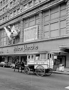 Mr. Bingle was at Maison Blanche every Christmas in New Orleans.