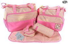 GARY&GHOST-0028A-Set 5 Kits Bolsa Maternal Cambiador a Ju...…