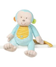 Another great find on #zulily! Blue Mason Monkey Plush Toy by GANZ #zulilyfinds