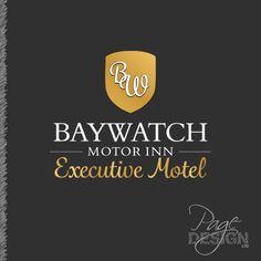 Logo for Baywatch Motor Inn, Executive Motel, Mount Maunganui, NZ