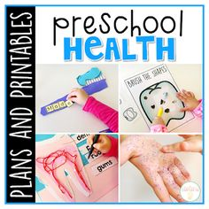 Preschool Curriculum Made Easy! This Preschool: Health resource has everything you need for a week packed full of learning about healthy habits. My preschool weekly plans are designed with the year old child in mind. Body Preschool, Preschool Curriculum, Preschool Classroom, Preschool Crafts, Homeschooling, Fall Preschool, Creative Curriculum, Kindergarten Worksheets, Kindergarten Classroom