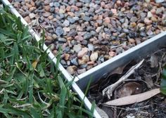 We've used aluminium Link Edge for edging lawns, gravel paths and gardens. Deck Edging Ideas, Metal Garden Edging, Gravel Path, How To Dry Basil, Lawn, Herbs, Backyard Ideas, Plants, Charlotte