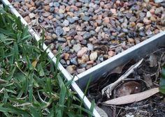 We've used aluminium Link Edge for edging lawns, gravel paths and gardens. Metal Garden Edging, Garden Paths, Deck Edging Ideas, Gravel Path, How To Dry Basil, Lawn, Herbs, Backyard Ideas, Plants