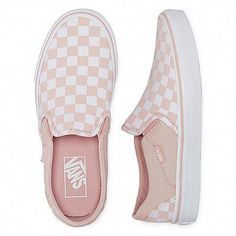 Asher Slip-On Womens Skate Shoes-JCPenney Asher Slip-On Womens Skate Shoes-JCPenney Vans Classic Checkerboard Slip-on Skate Shoes/Sneakers, Black/Off White for more fashion tips tricks and much more. Women Shoes to Accompany Your Path This Year Vans Slip On Shoes, Vans Shoes Women, Slip On Sneakers, Womens Shoes Wedges, Girls Shoes, Me Too Shoes, Women's Shoes, Shoes Style, Vans Shoes Fashion