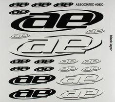 Decal Sheet New AE Logo