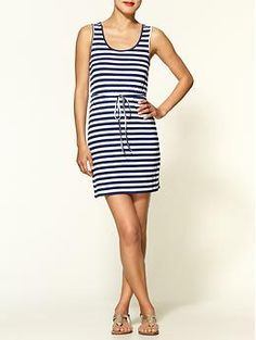 Stripes! You can never go wrong!  Tulle Tank Dress   Piperlime