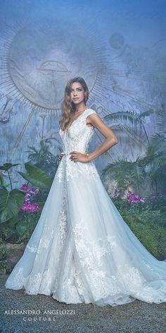 Mysterious Alessandro Angelozzi Wedding Dresses ❤ See more: http://www.weddingforward.com/alessandro-angelozzi-wedding-dresses/ #weddingforward #bride #bridal #wedding