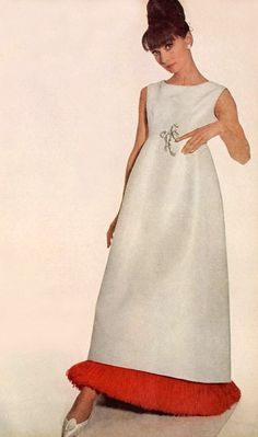 Audrey wore color well, but also looked amazing in white...