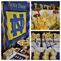Crissy's Crafts: Notre Dame Party