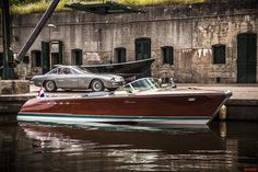 1968 Riva Aquarama Lamborghini (2x4.0 V12 engines from Lamborghini 350 GT)