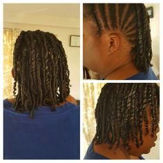 cornrows, twists and comb twists all in one style
