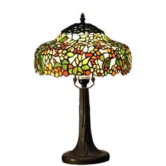 Shop for Paloma 1-light Multi-color Tree 12-inch Tiffany-style Table Lamp. Get free shipping at Overstock.com - Your Online Home Decor Outlet Store! Get 5% in rewards with Club O! - 18532484