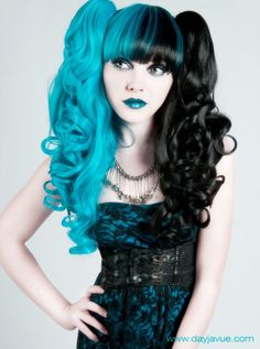 Split-Dyed Hair! - Nails, Toenails, Hair, Tattoo art, Trends!