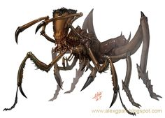 Insect-like creature by Toramarusama on DeviantArt