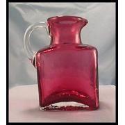 Pilgrim Cranberry glass