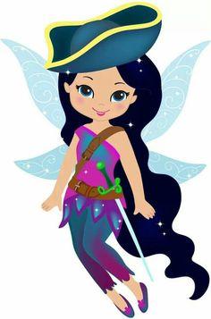 Sylvermist The Pirate Fairy