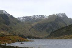 Llyn Ogwen Lake.