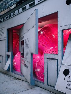Marc Fornes & THEVERYMANY Fill Storefront with Immersive, Ultra-Thin Shell Structure