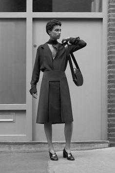COS is a contemporary fashion brand offering reinvented classics and wardrobe essentials made to last beyond the season, inspired by art and design. Preppy Chic Style, Lafayette Street, Classic Style, My Style, Aw17, Winter 2017, Interview, Normcore, Classy