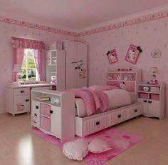 hello kitty room decor 25 Hello Kitty Bedroom Theme Designs