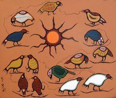 Binahshee Weesnehwok (Resting Birds)