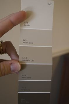 "valspar ancient stone - Google Search ""favorite go to color from rehab addict"