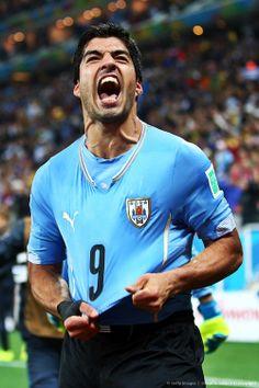 Luis SUAREZ con la selección de Uruguay