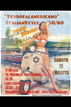 "Waiting for SummerJamboree...and waiting for ""Tuvuofalamericano""! Sabato 10 agosto - Bagni77Senigallia!"