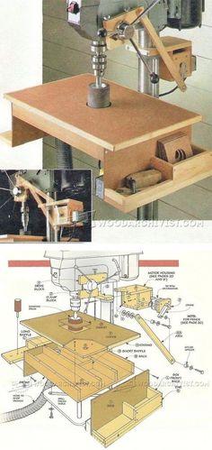 Drill Press Oscillating Drum Sander - Sanding Tips, Jigs and Techniques | WoodArchivist.com
