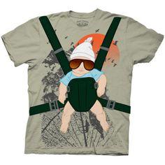 The Hangover - Baby Bjorn Costume Tee Maglietta su AllPosters.it