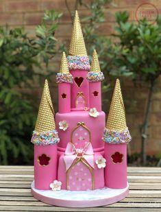 27 Pretty Picture of Princess Birthday Cake Princess Birthday Cake Princess Castle Birthday Cake Custom Cake Classes Disney Princess Birthday Cakes, Castle Birthday Cakes, 5th Birthday Cake, Happy Birthday Cakes, Princess Castle Cakes, Birthday Ideas, Fairy Castle Cake, Disney Castle Cake, Frozen Castle Cake