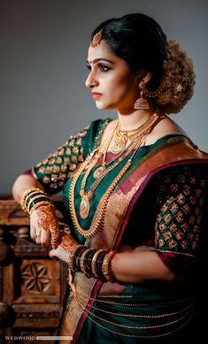 Look how beautiful this bridal photoshoot looks ____________________________________________ Photography : Unknown (Please DM)… Indian Bridal Sarees, Bridal Silk Saree, Indian Bridal Outfits, Wedding Dress, Saree Wedding, Wedding Bride, Designer Sarees Wedding, Wedding Wear, Bridal Dresses