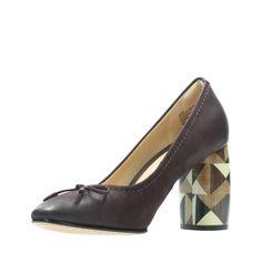 0251ac8e172 Clarks Grace Nina - Womens Shoes Aubergine 8.5  womensshoes Leather Socks