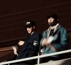 sehun + chanyeol at cbx concert