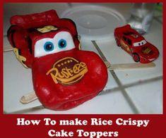 Great Tutorials here. (disney rice krispy treats recipe)