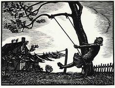 J. J. Lankes, woodcut  (1884–1960)