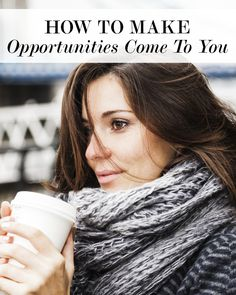 Are you frustrated with your current #job? It's time to take matters into your own hands: How To Make Opportunities Come To You | Levo League