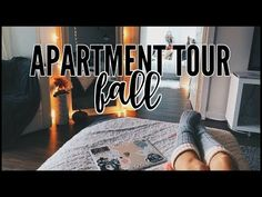 (13) Fall Apartment Tour | NIGHT EDITION - YouTube
