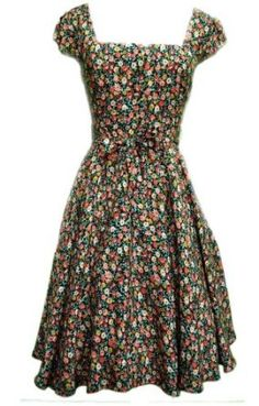 vintage style dress. this its cute :)