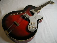 1965 Framus 5/54 Riviera,w/Original Schaller Customized Pickguard.