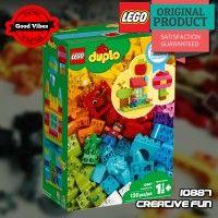 LEGO 10887 Creative Fun DUPLO Mainan Edukasi Rumah Anak Original #thekingbricks #theking #thekingid #kingbricks #gvonline #uhappyihappy #tokolegoterpercaya #tokomainanoriginal #lego10887 Lego Duplo Sets, Lego City, Lego Star Wars, Snacks, The Originals, Creative, Fun, Appetizers, Treats
