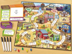 Wild West Adventure: Operations Word Problem Game  #LakeshoreDreamClassroom