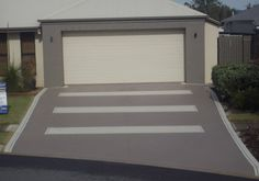 Concrete Driveway For New Home Matching Decorative Covercrete