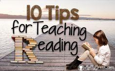 10 Tips for Teaching Reading