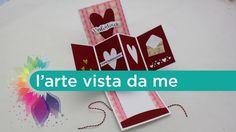 Buongiorno a tutti! Oggi prepariamo una twist card pop up per San Valentino!!! Per le decorazioni ho usato timbri e fustelle La coppia creativa www.lacoppiac...