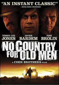 """2004- Best movie- """"No Country for Old Men"""""""